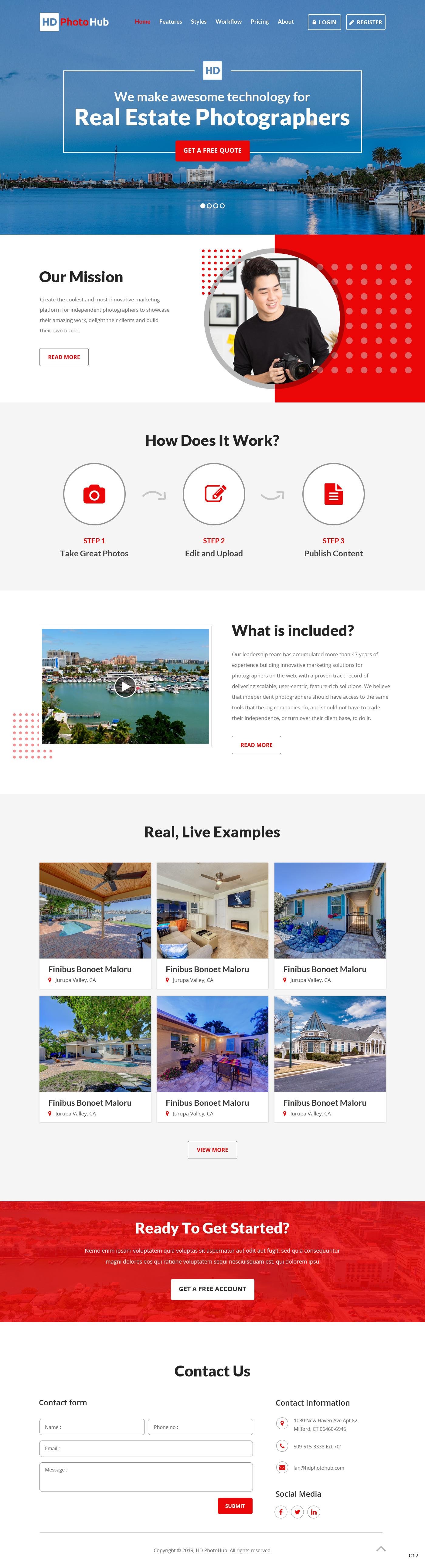 Participating Entry #5 for Website Design contest - Single Real Estate Property Listing Website Template - original