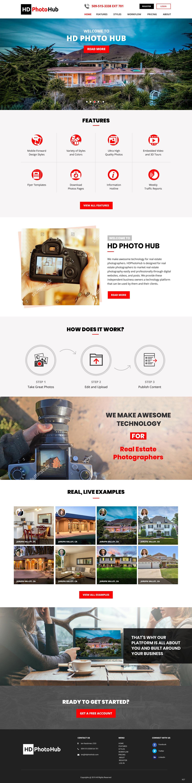 Participating Entry #10 for Website Design contest - Single Real Estate Property Listing Website Template - original