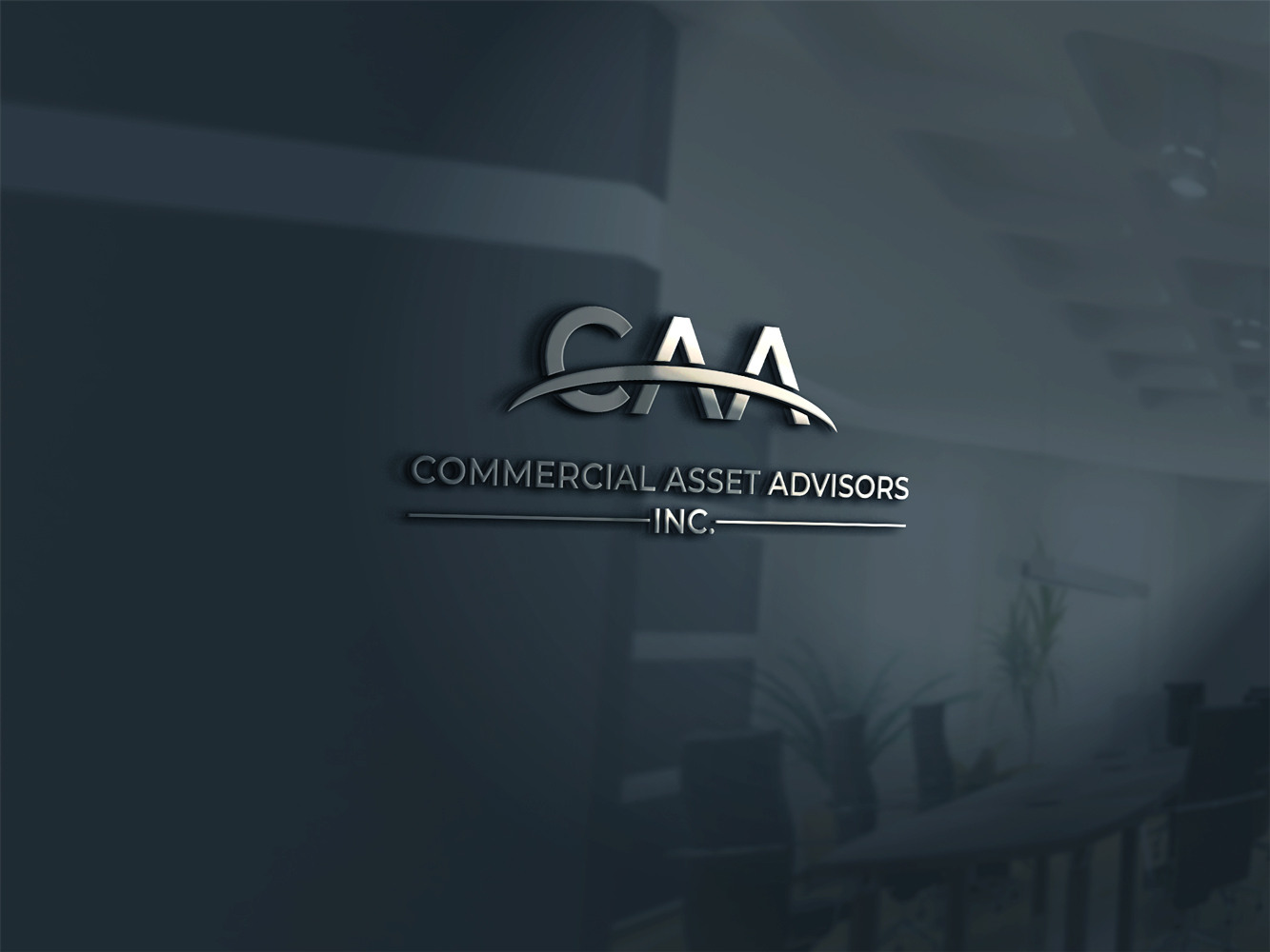 Winning Entry #98 for Logo Design contest - Create a logo for Commercial Assest Advisors, Inc. - original