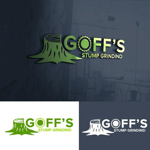 Participating Entry #76 for Logo Design contest - Stump grinding logo  - original