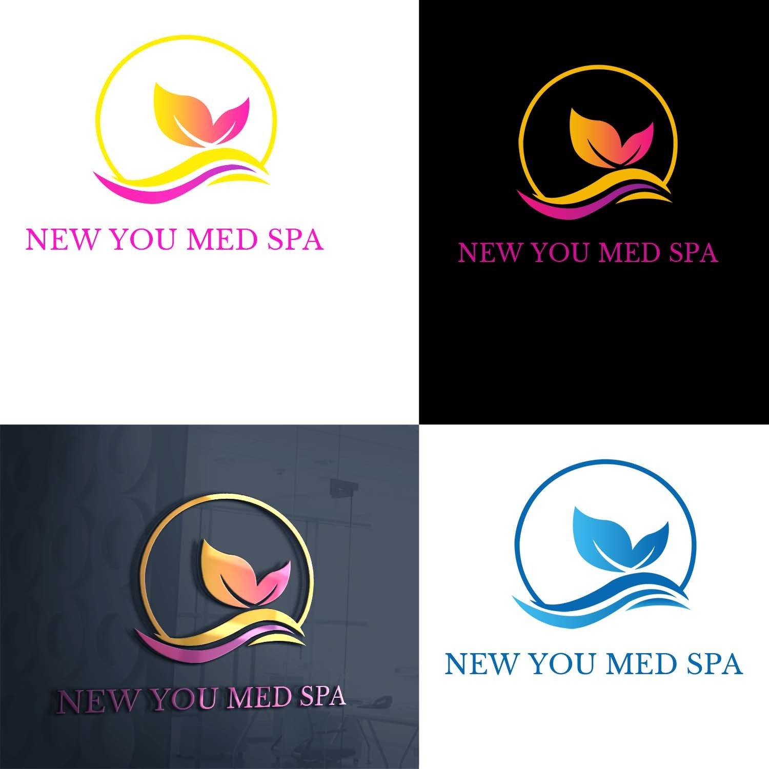 Winning Entry #109 for Logo And Business Card Design contest - Spa & Aesthetics Logo And Business Card Design required - original