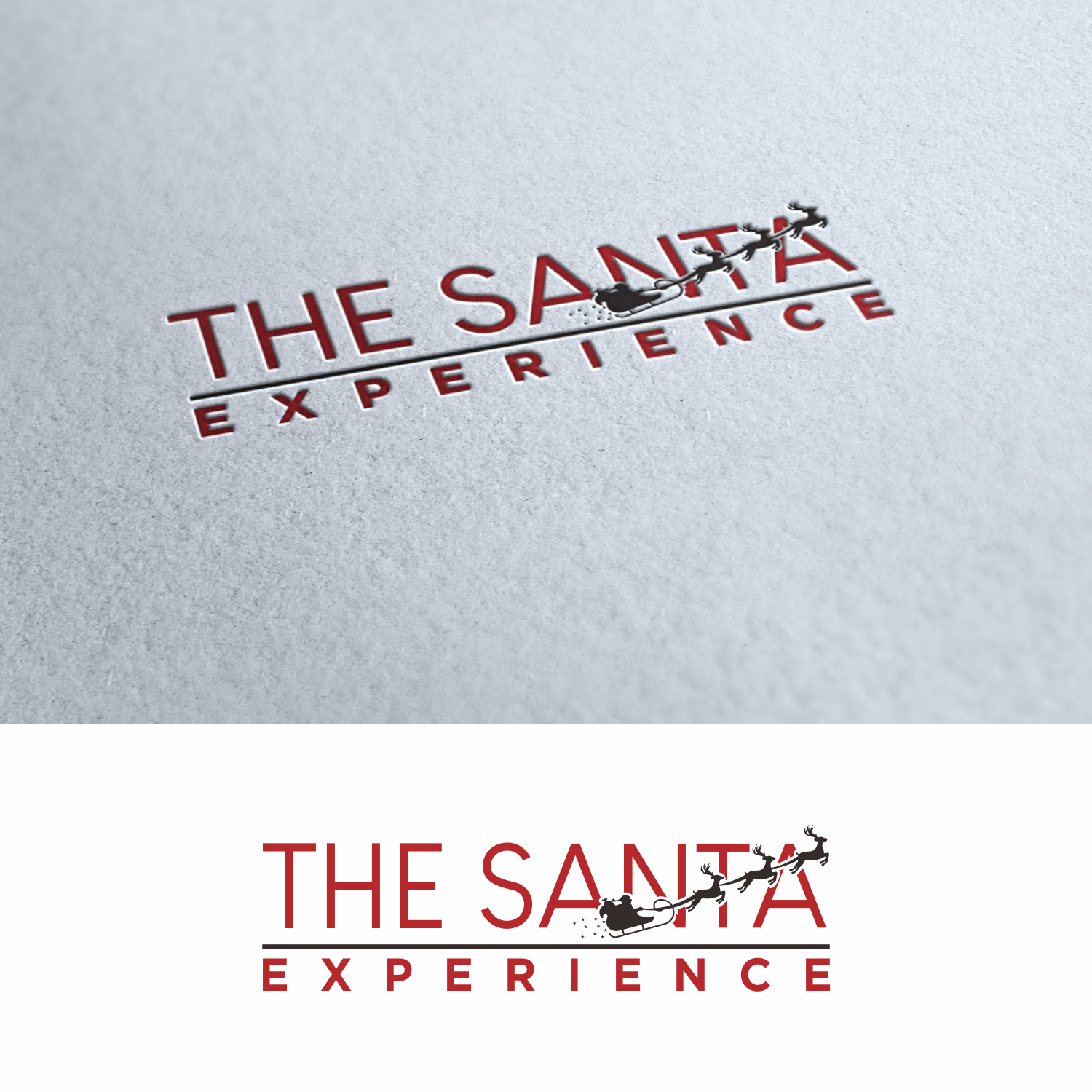 Participating Entry #165 for Logo Design contest - The Santa Experience - original