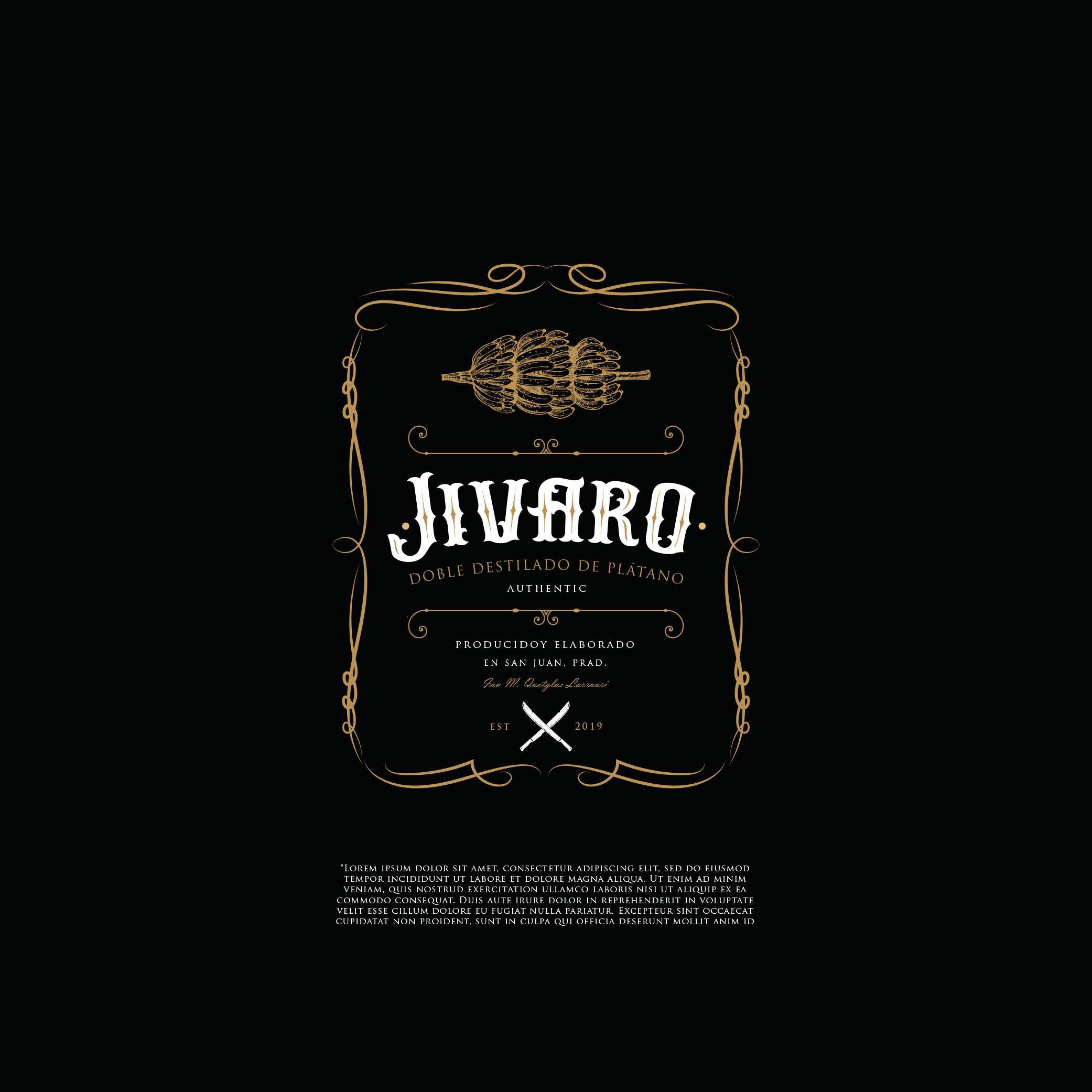Winning Entry #80 for Logo Design contest - Liquor Bottle Design - original