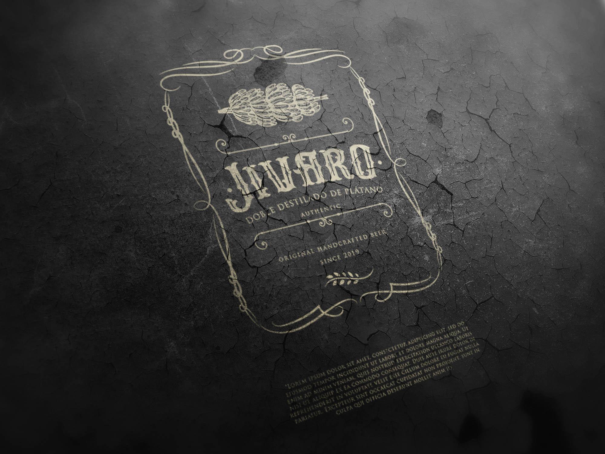Participating Entry #40 for Logo Design contest - Liquor Bottle Design - original