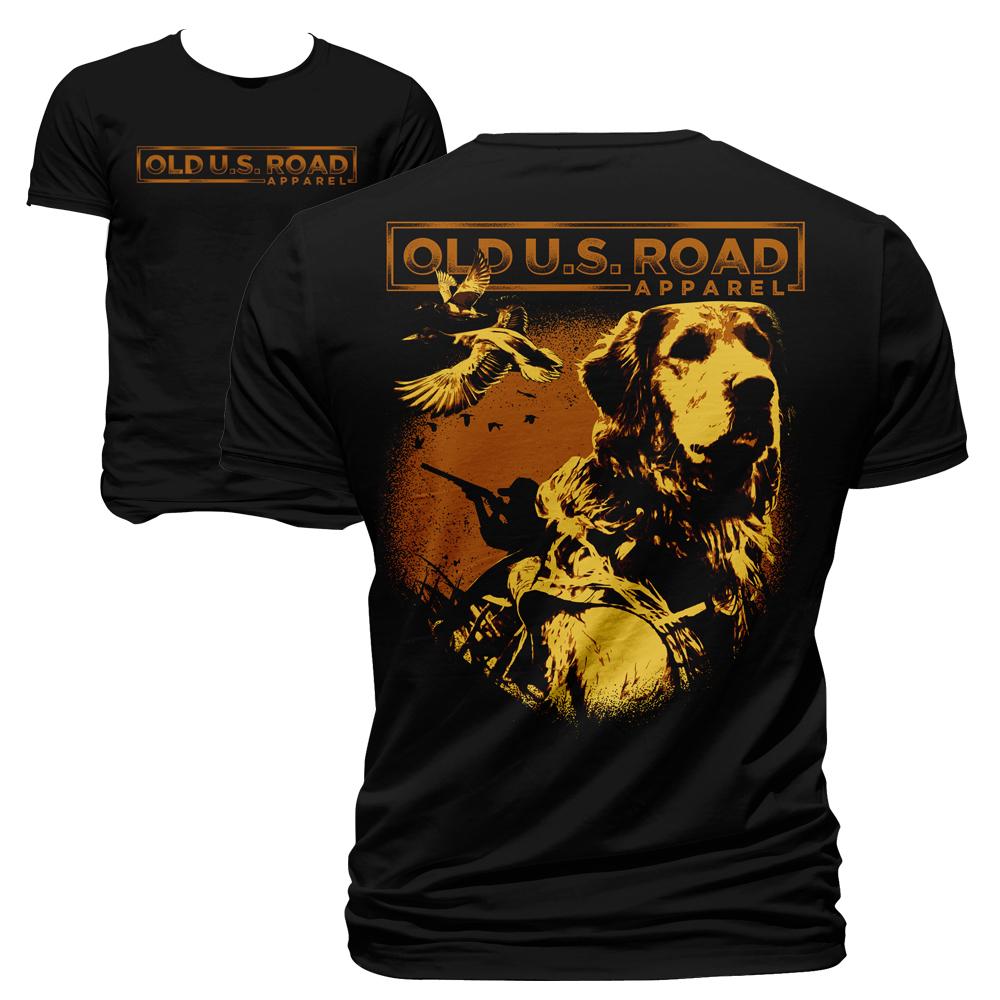 Winning Entry #20 for T-Shirt Design contest - Create a t-shirt design for Old U.S. Road Apparel - original