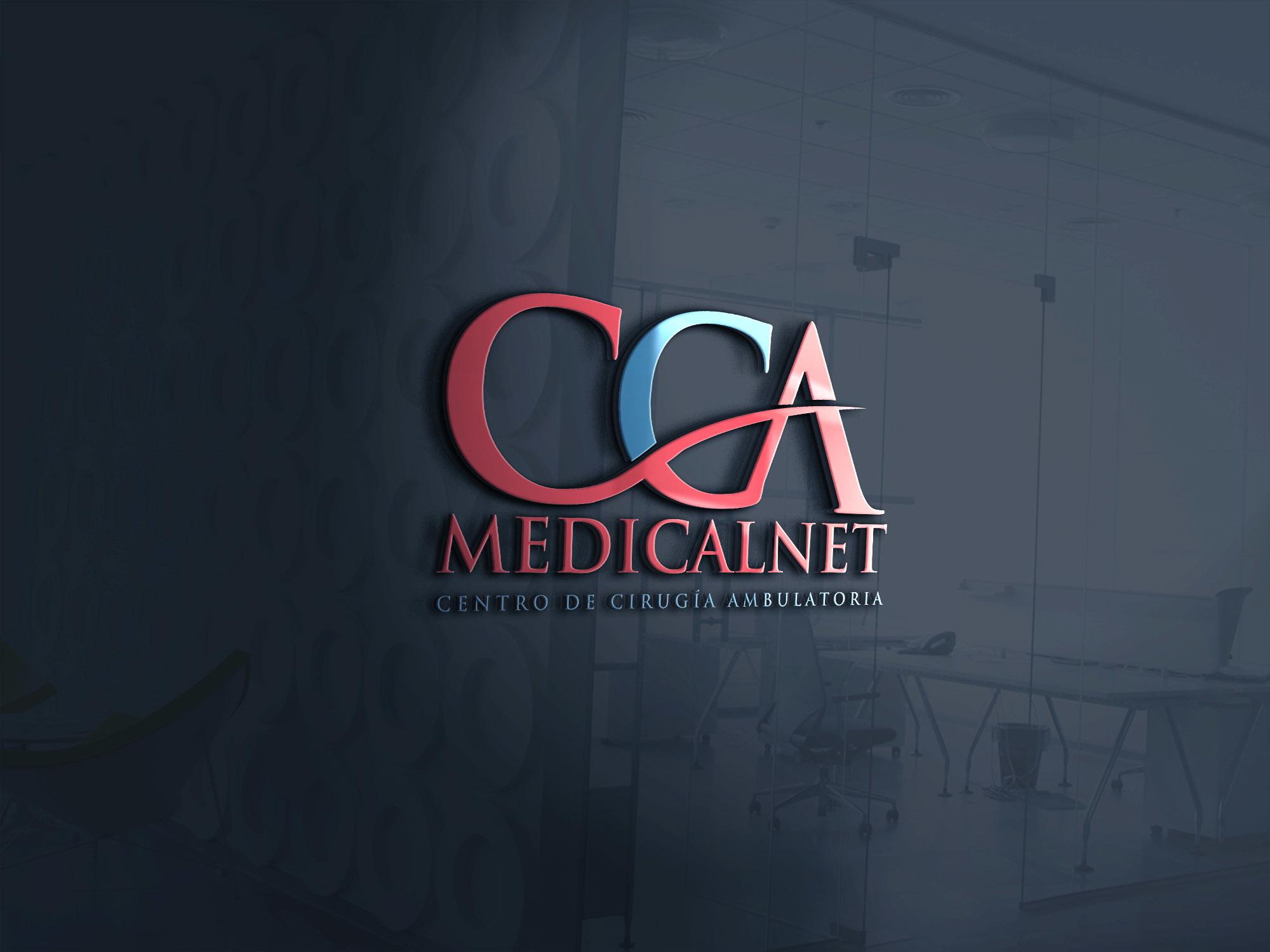 Winning Entry #10 for Logo Design contest - Centro Cirugía Ambulatoria MedicalNet - original