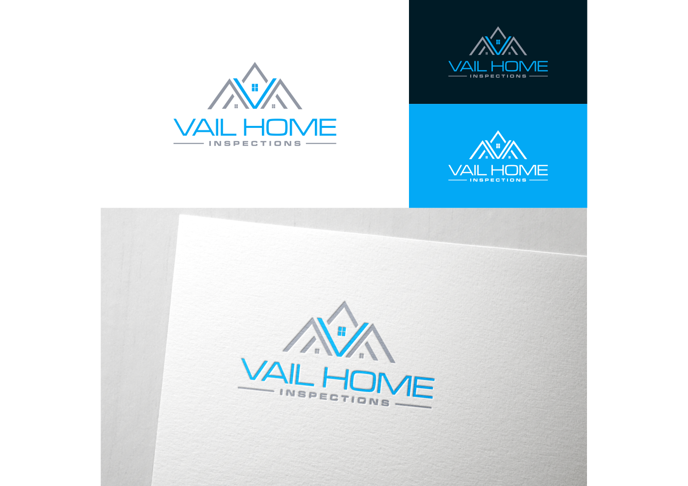 Winning Entry #23 for Logo Design contest - Real Estate & Mortgage Logo Design required for a Home Inspection Business - original
