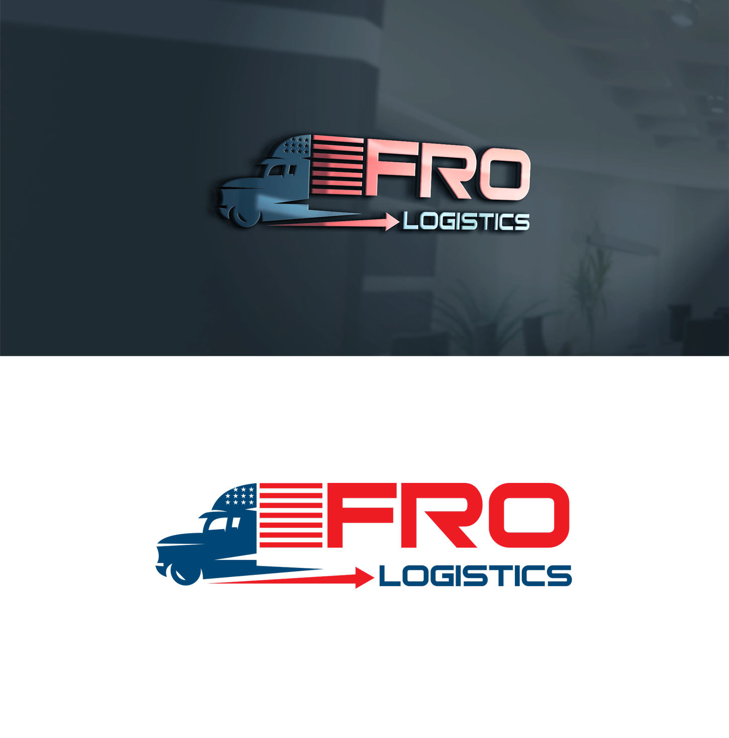 Winning Entry #2 for Logo Design contest - Trucking Logo Design required - original