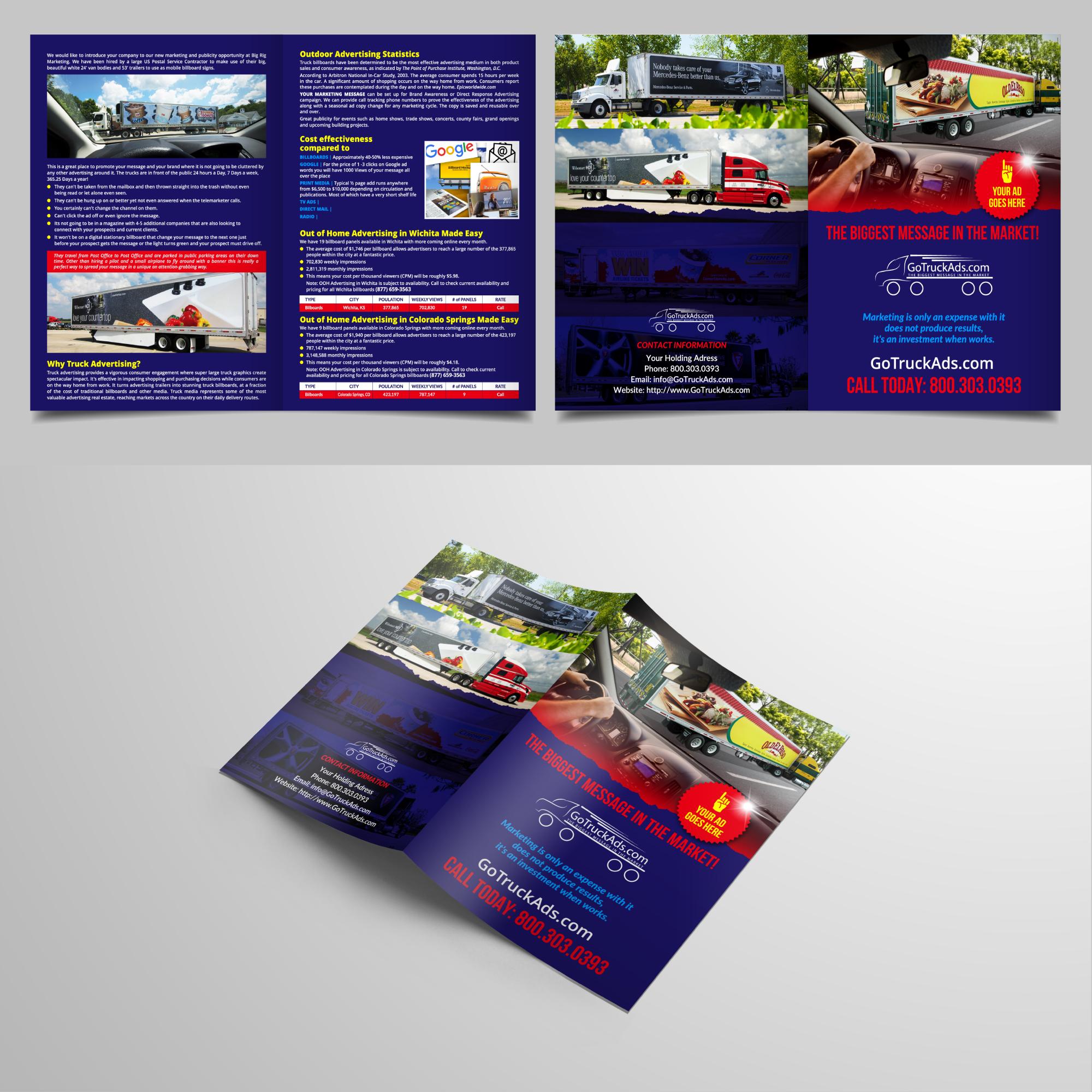 Winning Entry #27 for Brochure Design contest - Marketing Brochure Design for Email - original