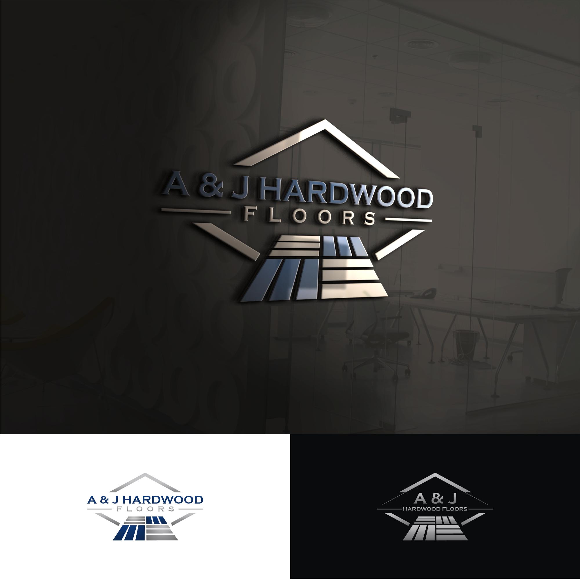 Winning Entry #104 for Logo Design contest - (Custom) Hardwood Flooring Logo Design required - original