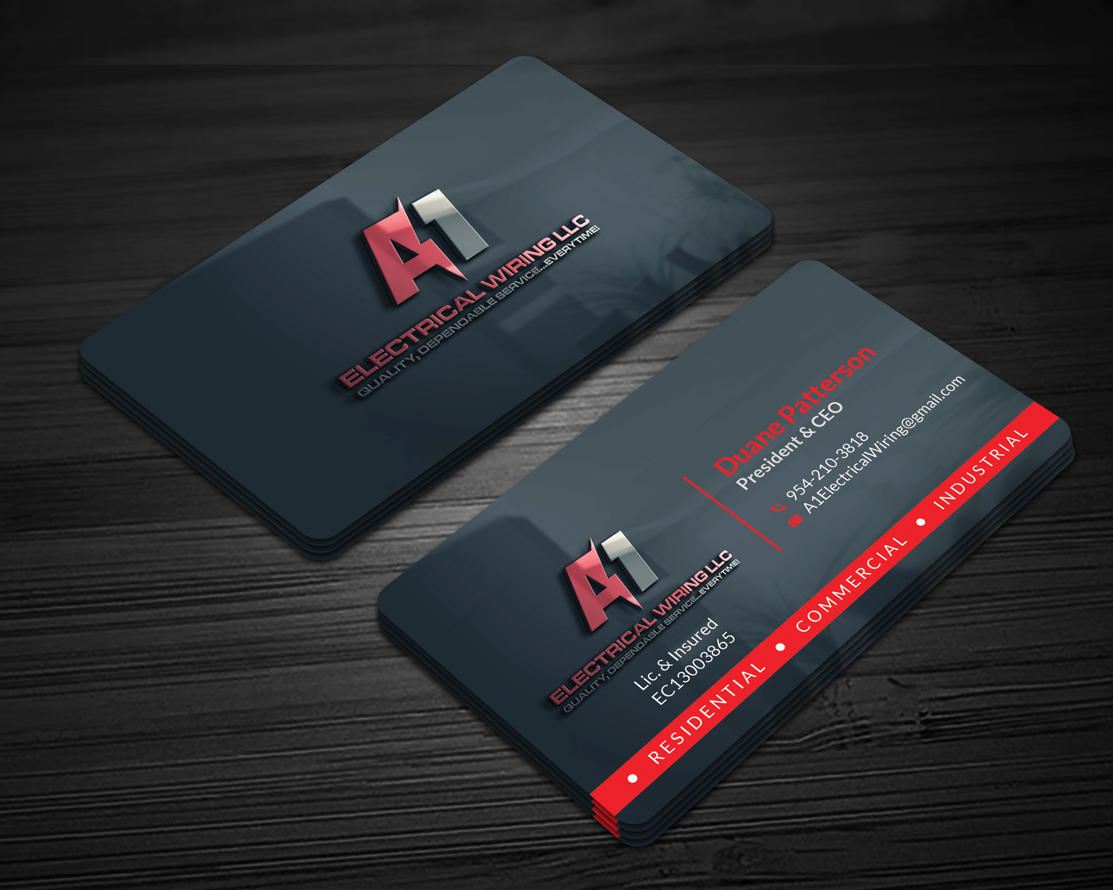 Winning Entry #133 for Business Card Design contest - Create a business card - original