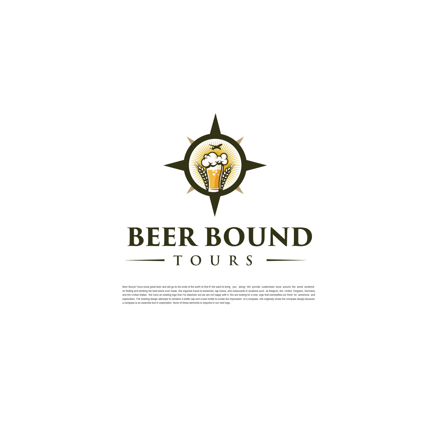 Participating Entry #15 for Logo Design contest - Beer Travel Guides Need New Logo! - original