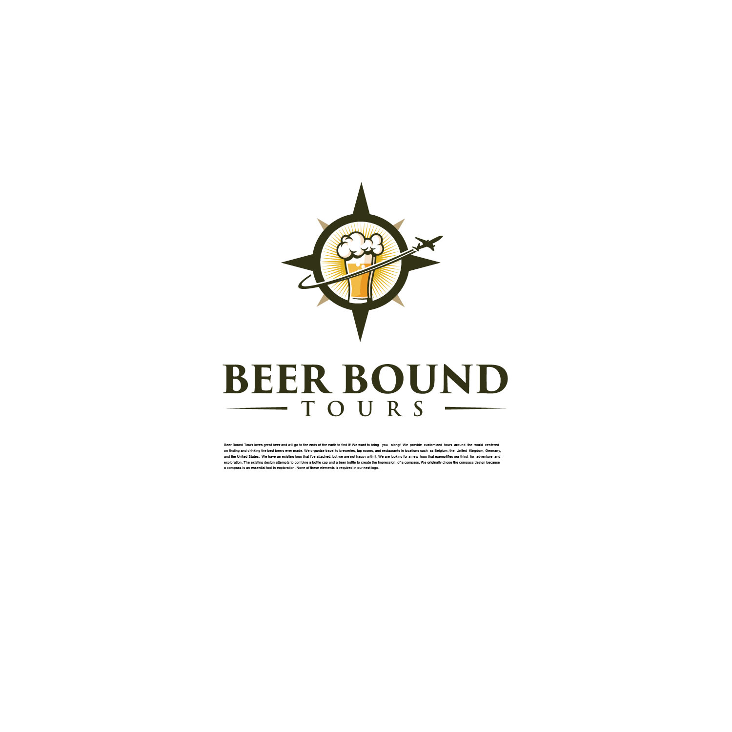 Participating Entry #13 for Logo Design contest - Beer Travel Guides Need New Logo! - original