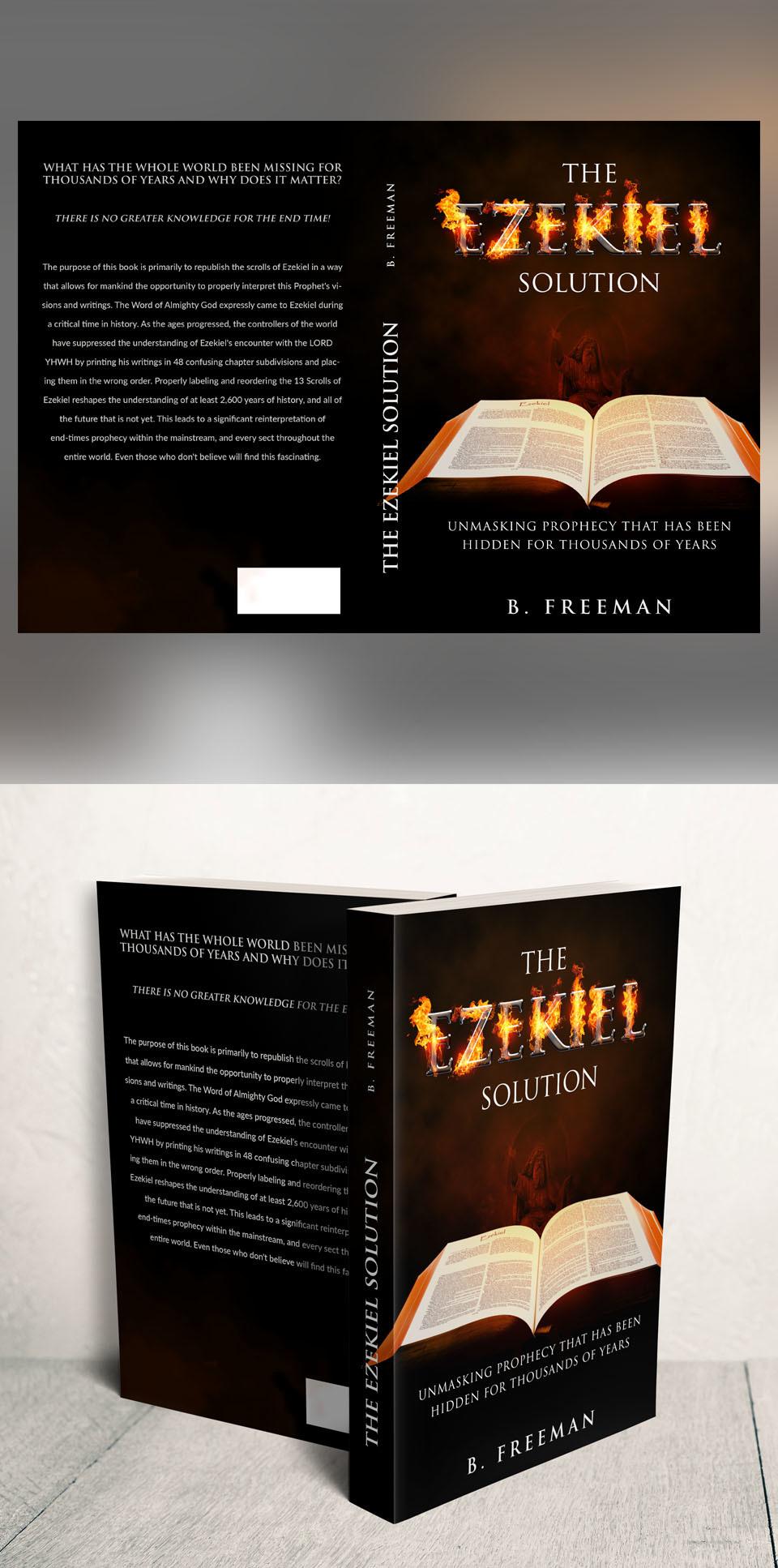 Participating Entry #7 for Book cover Design contest - Religious Book cover Design required - original