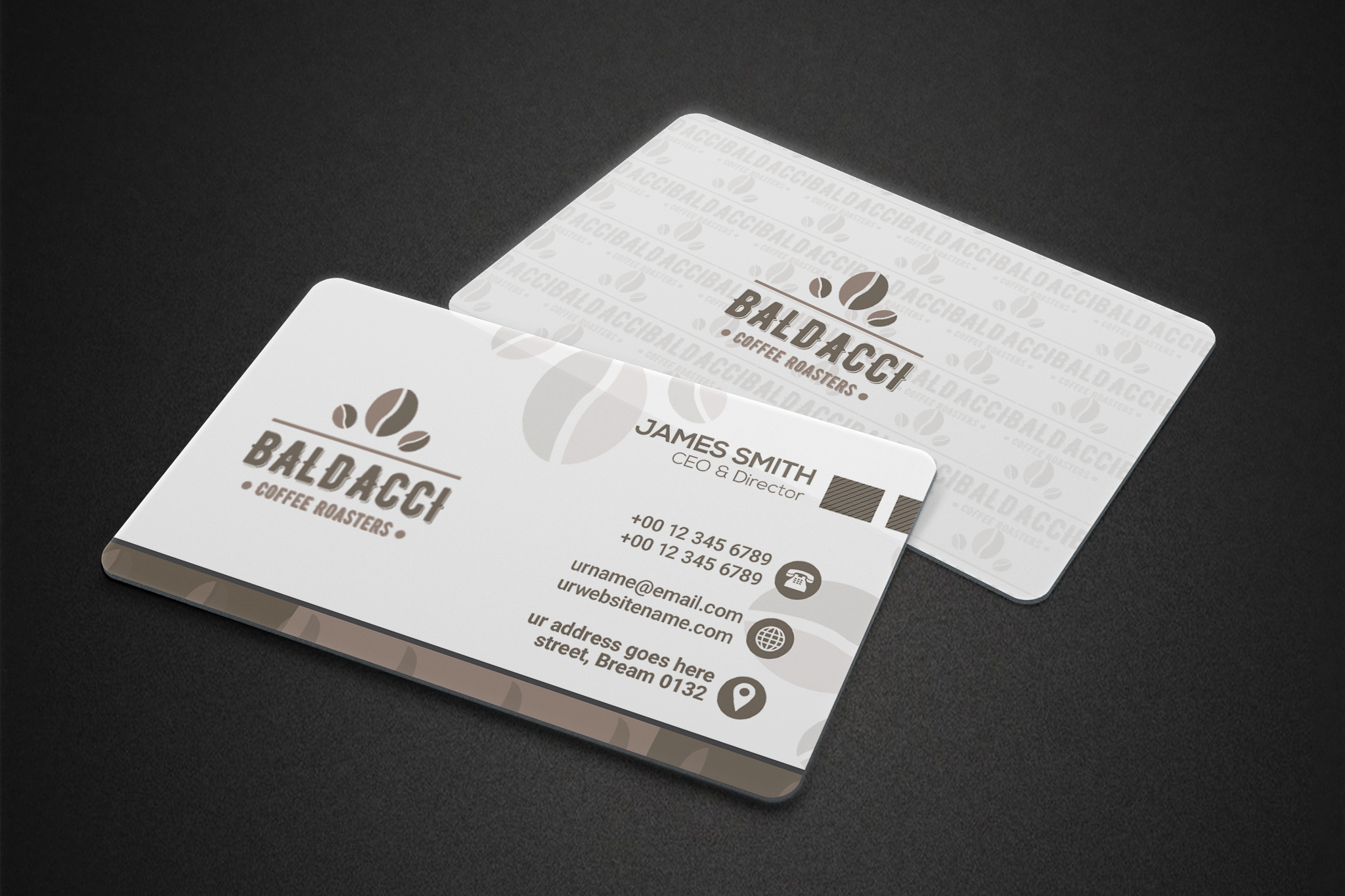 Winning Entry #53 for Business Card Design contest - Food & Drink Business Card Design required - original