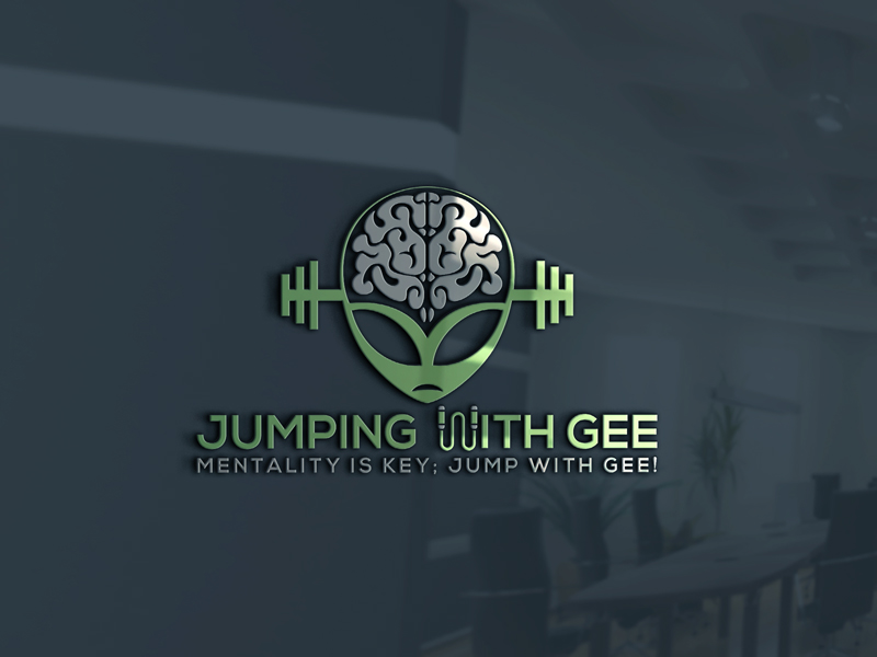 Winning Entry #91 for Logo Design contest - Jumping with GEE - original