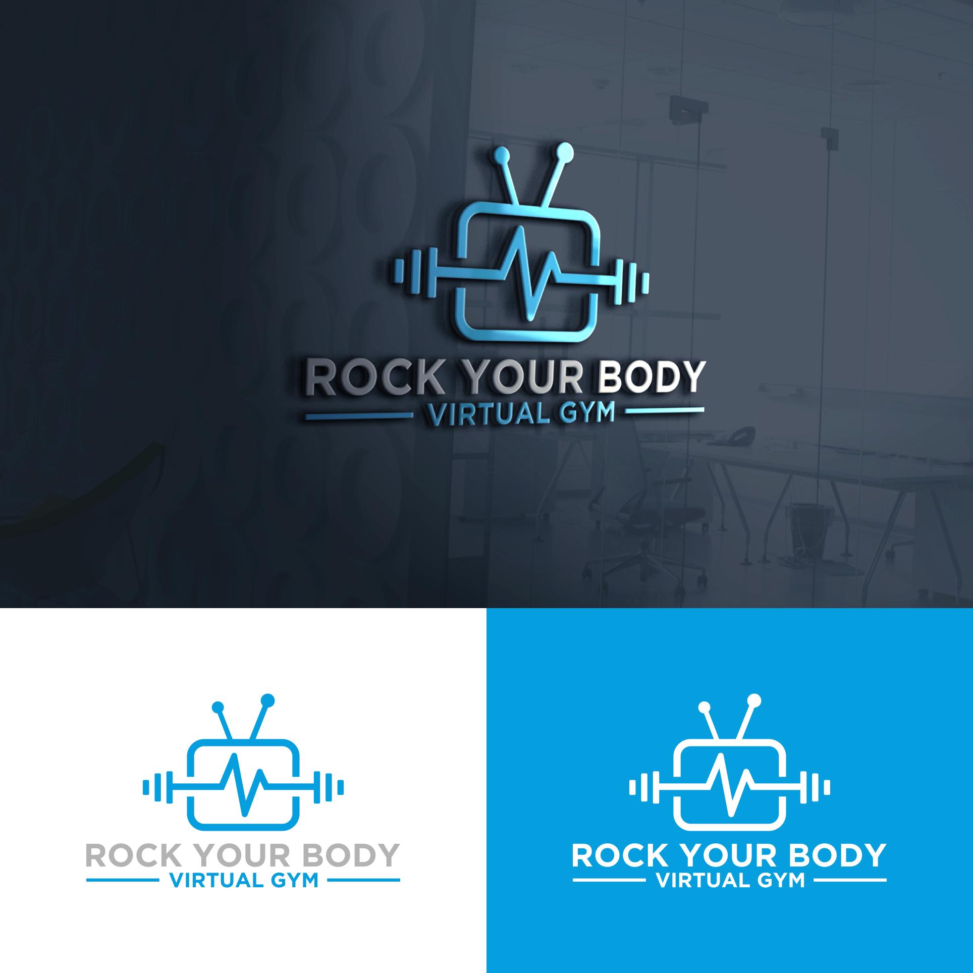 Winning Entry #55 for Logo Design contest - Virtual Gym Logo - original
