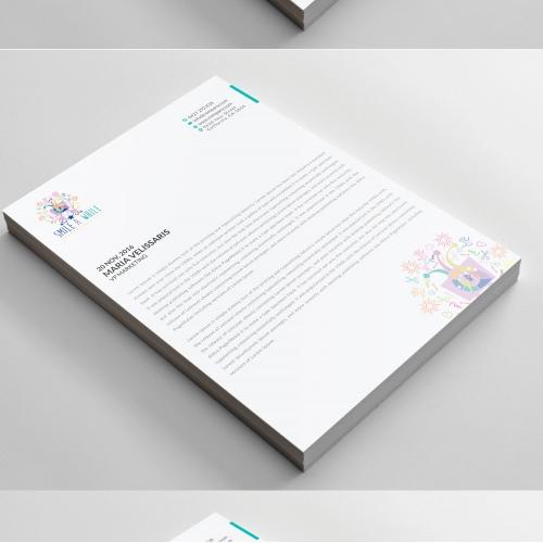 Letterhead design buy letterhead templates online view case study spiritdancerdesigns Images