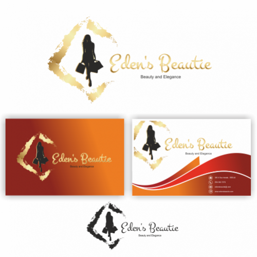 Logo business card buy custom business card logos online fashion clothing logo business cards reheart Gallery