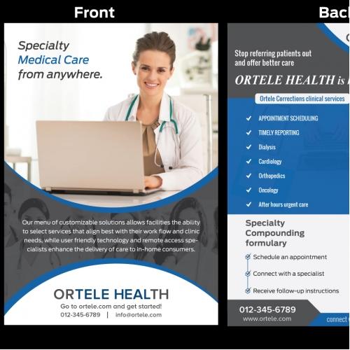 design a flyer online