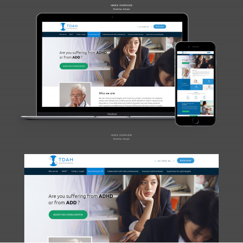 Winning Entry #5 for Website Design Contest - Medical & Pharmaceutical Website Design required